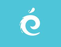 Les Nymphéas Aquatic Center - Brand Identity