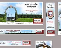 Fort Caroline - Banner Ads for Web