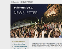 Newsletter Template - Yiddish Summer Weimar