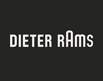Dieter Rams Tribute Posters