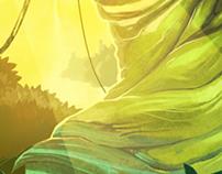 Jungle Game Background