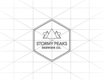Stormy Peaks Brewing Company Logo