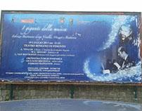 """""""I Giganti della Musica"""". Advs for a classic concert"""