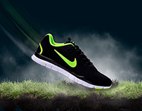 Compositing nike shoes Product