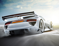Ilustración Automotriz / Automotive illustration
