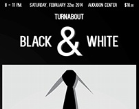 Turnabout Event Poster Designs