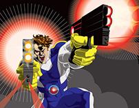 Agent Nemesis in Battle