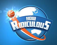 """How Ridiculous"" logo animation."