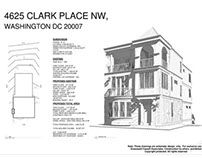 Clark Place NW. Renovation