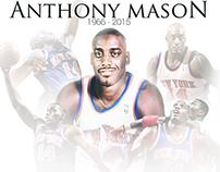 Anthony Mason Knicks Tribute Graphic