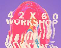 42x60 - Workshop de Cartaz Artístico