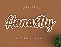 Hanastly Script Font