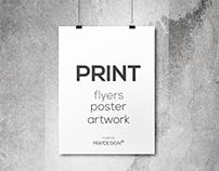 Poster & Stationary Design