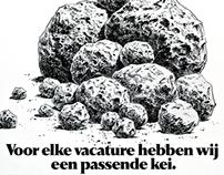 Vedior Uitzendbureau Image Campaign | Campaña de Imagen