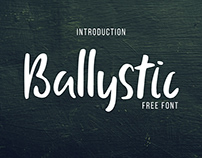 Free Font - Ballystic