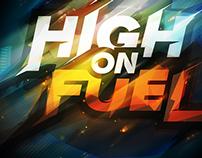 High On Fuel Logo Design