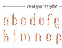 DIVERGENT {a typeface}