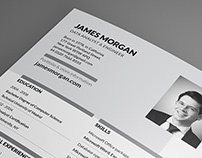 Clean Resume/CV & Cover letter Template (free)