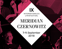 Internationales Lyrikfestival MERIDIAN CZERNOWITZ