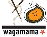 Wagamama Employee Unisex T-shirt Design