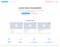 eLearning Platform Web