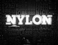 """Nylon """"Brand Identity"""""""
