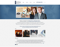 Foley & Foley Website Design