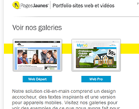 Groupe Pages Jaunes: rédaction web (2012-2013)