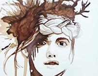 Mujer nido