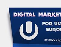 Infographic - Digital Marketing Summary - Ultra Europe