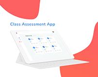 Class Assessment App