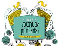 """Logotipo & web para """"Entre punto y puntada"""""""