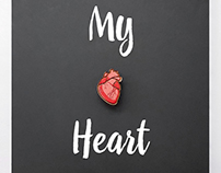 """""""My Heart"""" wooden accessory"""