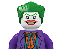 LEGO® Batman Movie Villain Designs