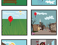 Life of a Balloon, 2015. Illustrator.