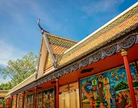 Khmer roof