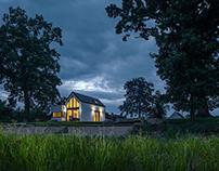 House by the pond by boq architekti