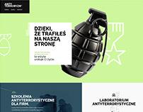 Anti-terrorism security company website