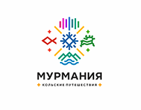 "Logo for Murmansk region tourism company ""Murmania"""