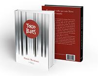"""Diseño de portada del libro """"Tokio Blues"""""""