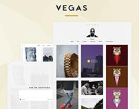 Vegas - Minimalistic Responsive Tumblr Theme