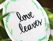 Love Leaves