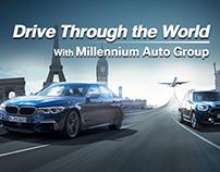 BMW Drive Through the World with Millennium Auto