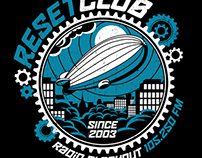 Radio Blackout - Reset Club - T-Shirt