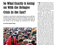 Four Page Magazine Layout: Immigration