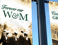 William & Mary Commencement Banners