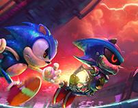 [Fanart] Stardust Speedway . Sonic CD