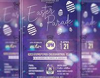 Easter Parade Flyer - Seasonal A5 Template