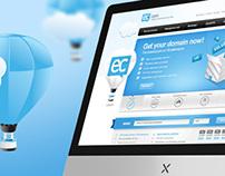 hosting services website