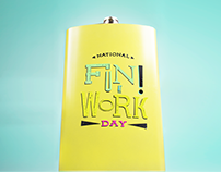 National Fun at Work Day Alcohol Promotion